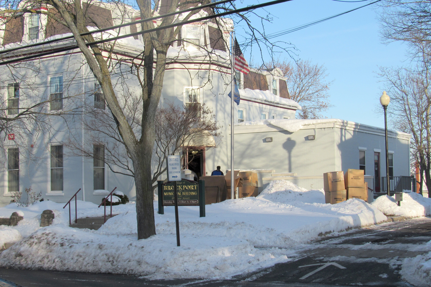 The former location of the Brockport Village Offices at 49 State Street. The location will continue to house the Village Court as well as serve as a meeting place for the Village, Zoning and Planning Boards.