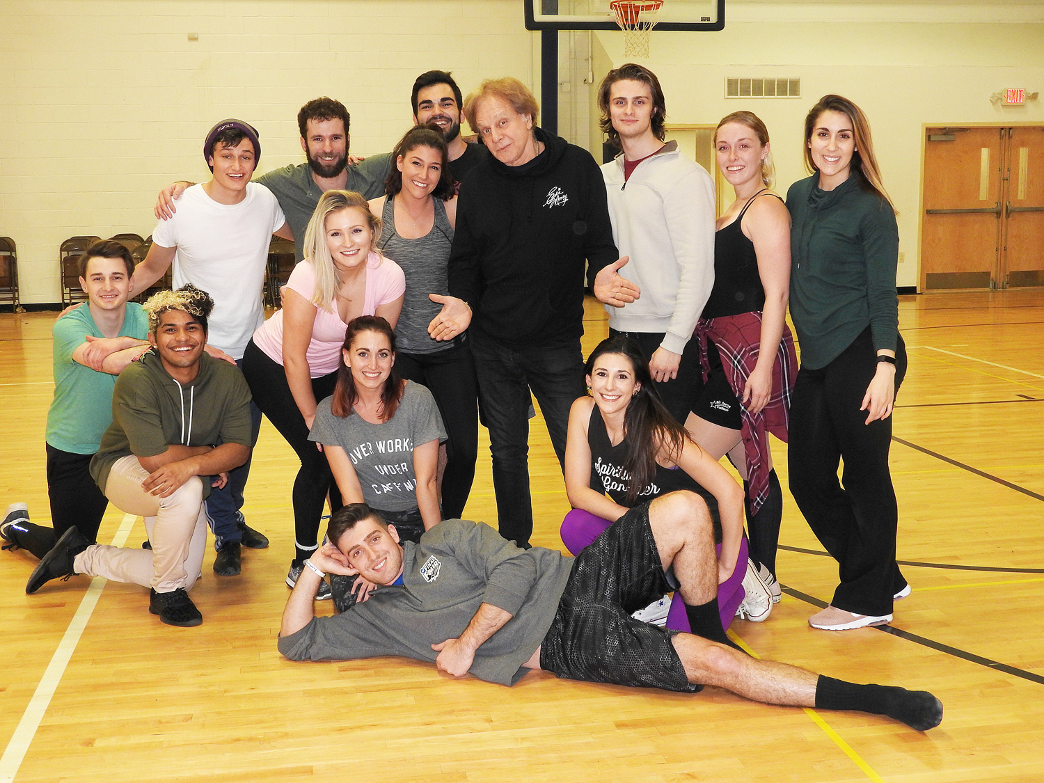 "Eddie Money and the cast of ""Two Tickets to Paradise: The Eddie Money Musical."""