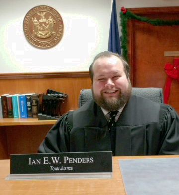 Clarkson Town Justice Ian E. W. Penders. Provided photo
