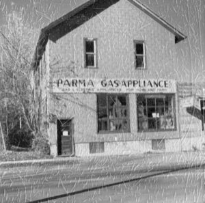 The building housed Parma Gas and Appliance in the 1950s. Provided photo
