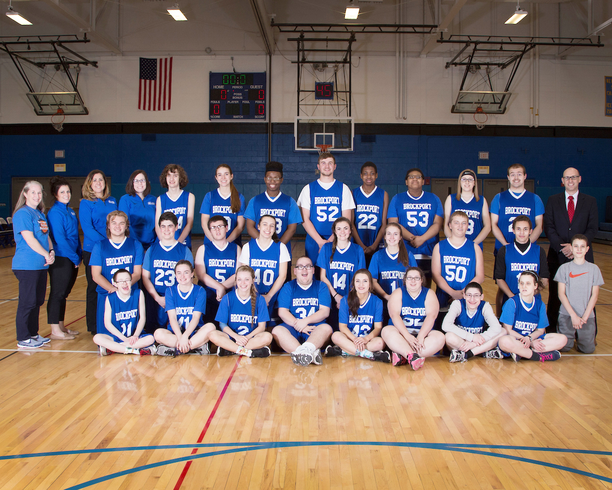 2017 Brockport Unified Basketball Team. Provided photo