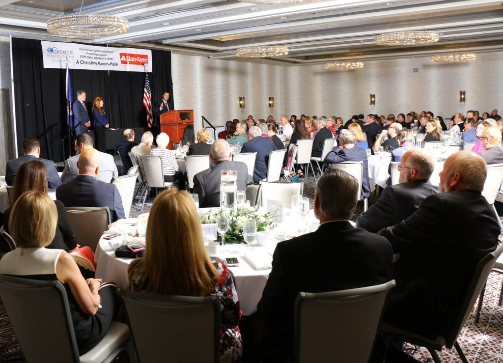 32nd Community Awards Gala in April 2017. Provided photo