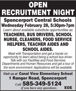 Spen Open Recruitment 2x3