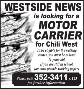 Westside News carriers Chili W