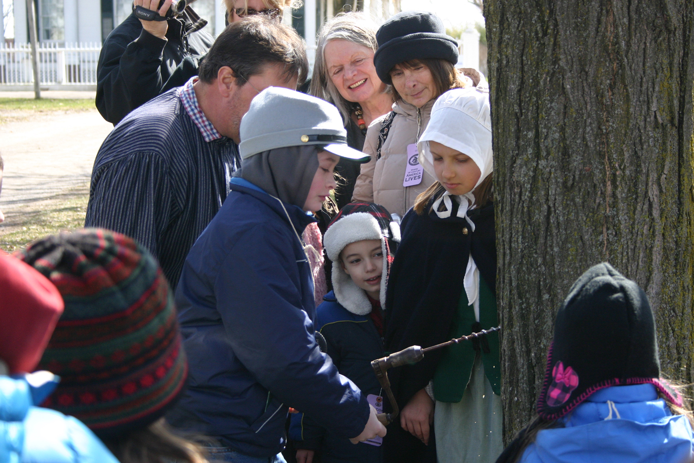 From the tapping of trees and the boiling down sap into syrup to enjoying pancakes with real maple syrup: All that and more is available at Genesee Country Village & Museum's Maple Sugar Festival on March 17-18 and 24-25. Provided photo
