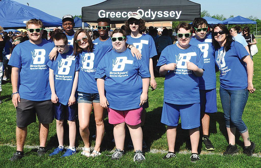 Brockport High School athletes