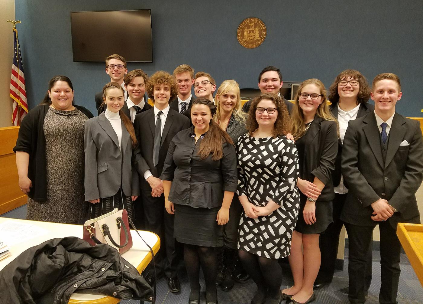 Hilton High School's Mock Trial Team. Provided photo
