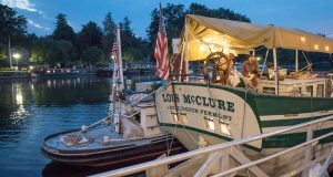 The Lois McClure, a replica of an 1862 canal barge