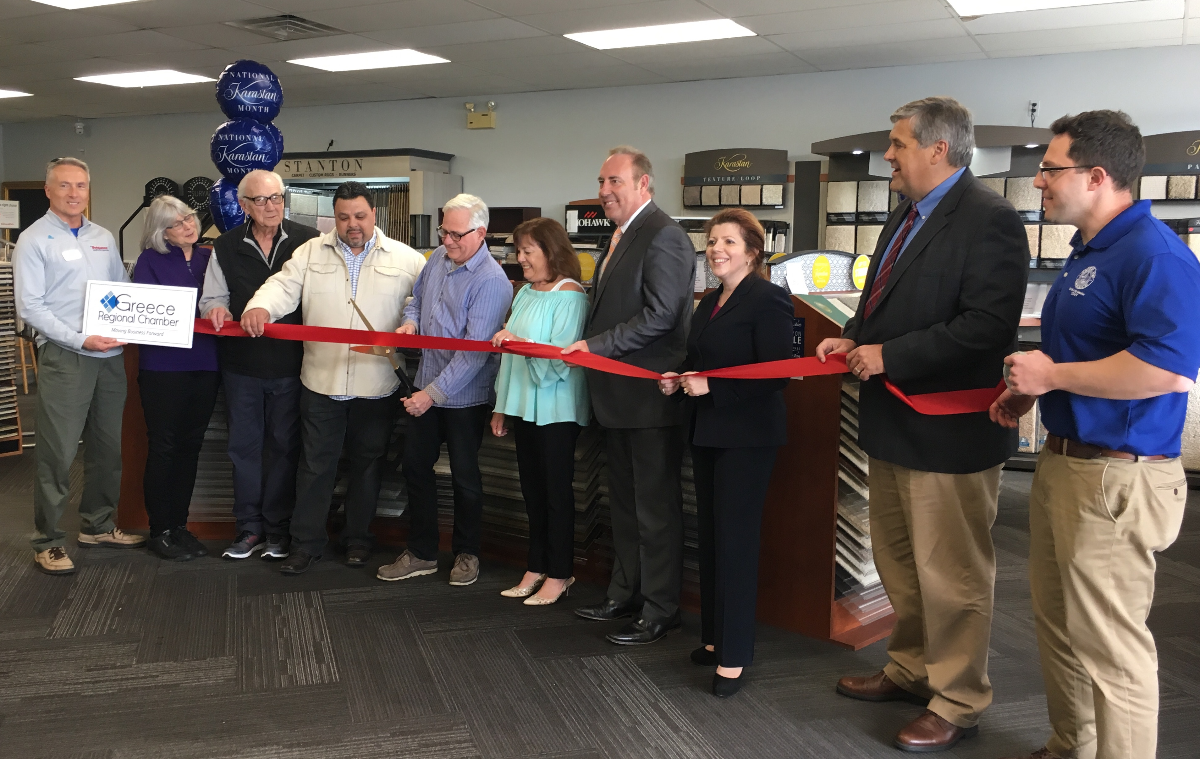 *GRC_Christie Carpets Ribbon Cutting and Recent Expansion Celebration 5.11.18