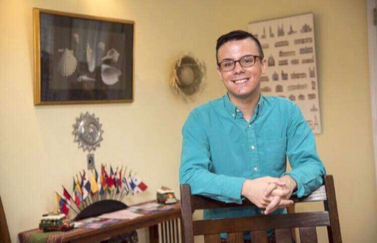 Teacher Paul Figueroa will be visiting the Ogden Farmers' Library in Spencerport on Wednesday, July 18 from 1 to 3 p.m. to help collect non-perishable items and school supplies for his first grade students in Puerto Rico. Provided photo