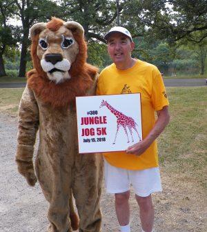 Bruce Rychwalski at the 2018 Seneca Park Zoo Jungle Jog. Provided photo