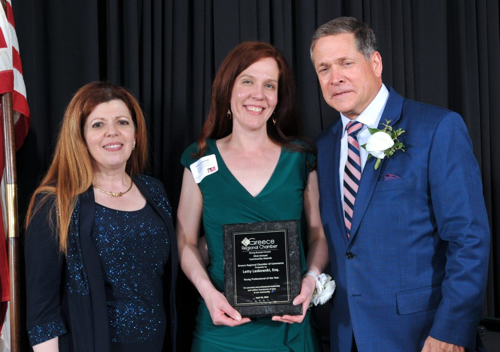 Letty Laskowski - Young Professional of the Year Award Recipient