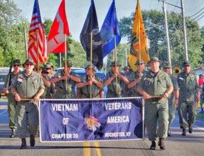 Vietnam Vets at Kendall parade - Nicholson