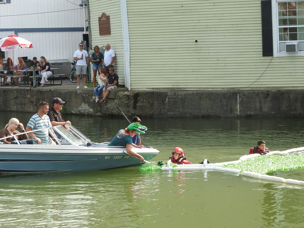 Boat Retrieving Canaligators