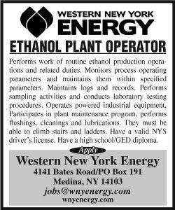 Western New York Energy 2x3 Ethanol