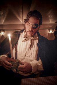 Candlelit interpreter.