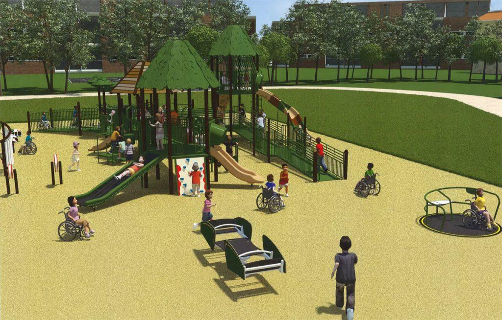 Sweden Town Park Playground