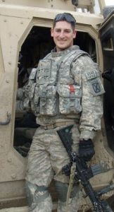 Rob Burke during his second deployment to Afghanistan in 2010-2011. Provided photo