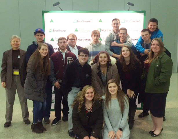 Shown (l-r, f-b) Becca Velasco, MacKenzie Rosse, Lydia Campbell, Jared Fregoe, Jason Hoehn, Stephanie Buell, Anna Hersom, Erin Parnapy, Marian Gerhardy, Tony DiQuattro, Nick Brown, Wade Thompson, Will Johnson, Ryan Cooper, Hunter Leach, Cory Bater