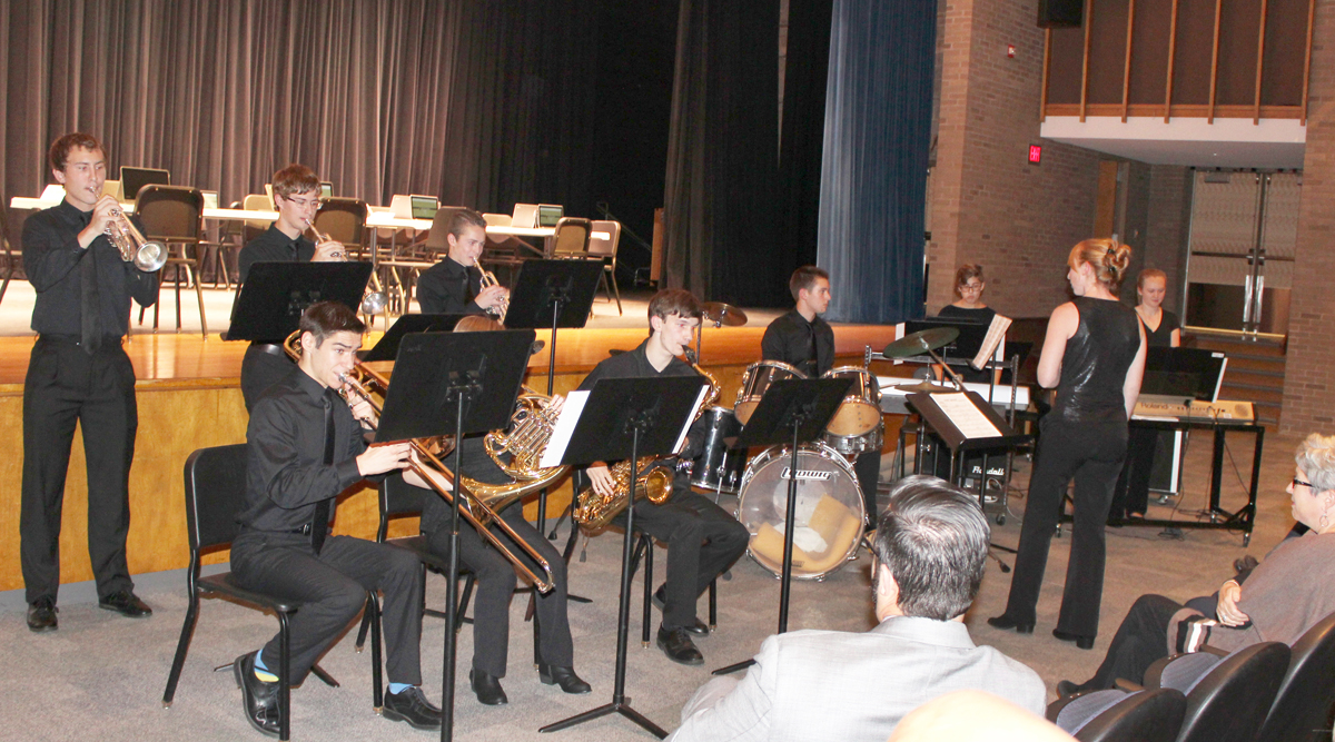 The arts are an integral part of education at Churchville-Chili and were ably represented by the very talented SHS Jazz Ensemble. Provided photo