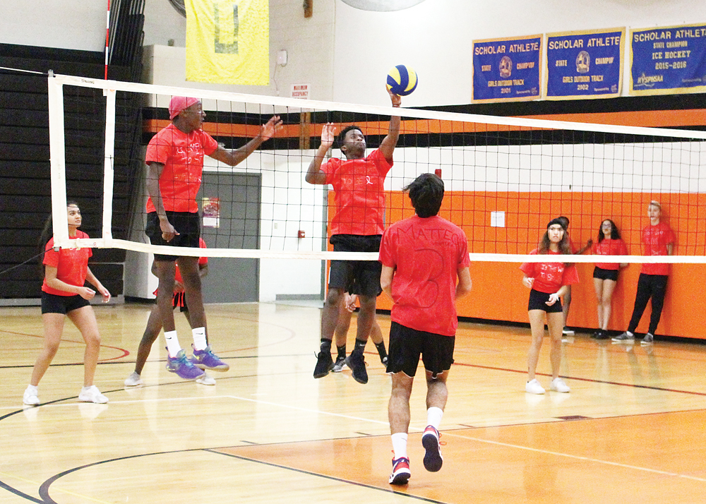 The tournament was the culmination of a week of Red Ribbon awareness activities at the high school. Provided photo