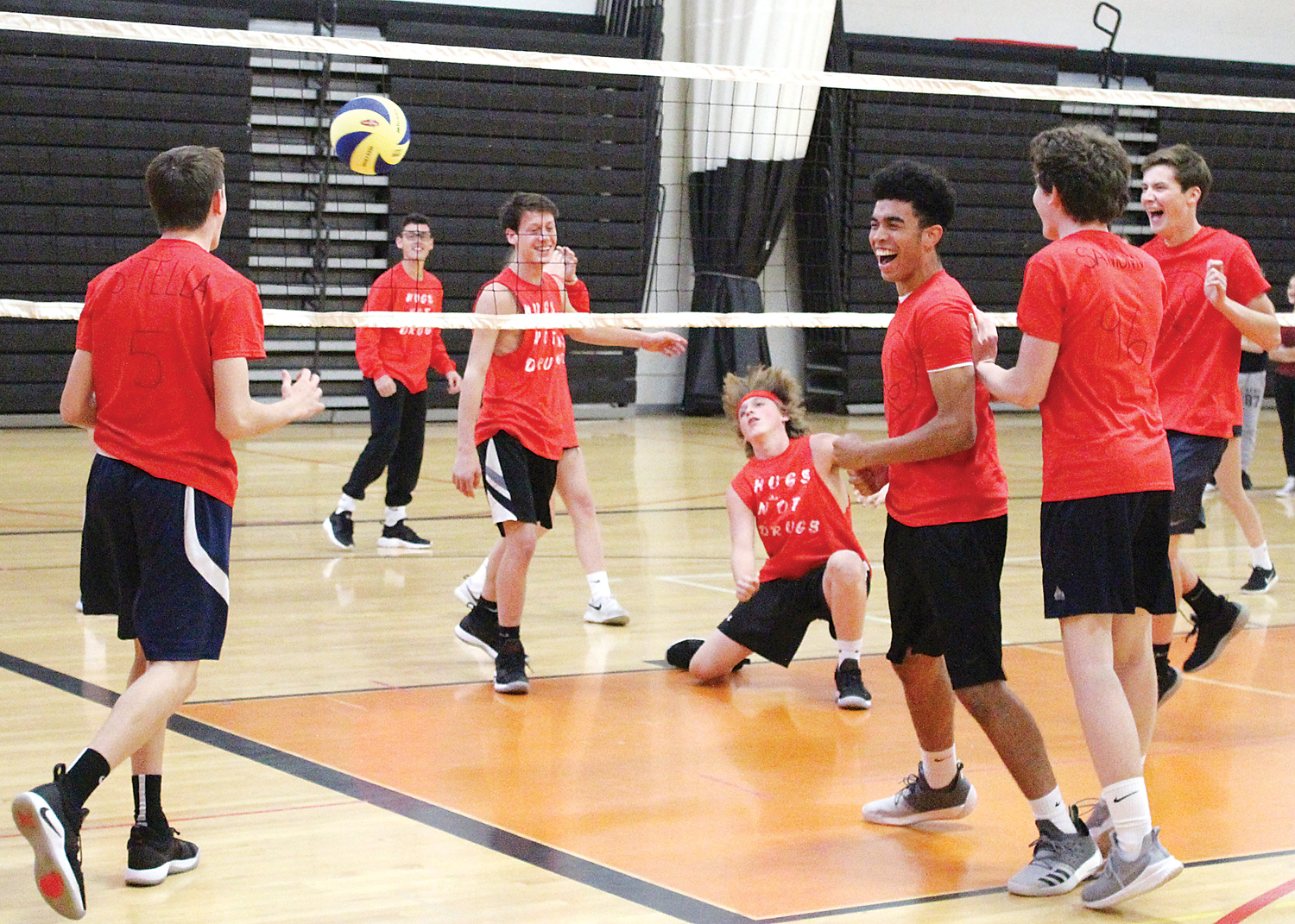 C-C SHS teams displayed impressive moves on the volleyball courts. Provided photo
