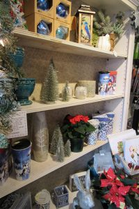 Fabulous gifts for gardeners abound at local garden centers. Sara's Garden Center in Brockport is decked out for the holidays with a wide selection of gift items and plants. Photo by Kristina Gabalski