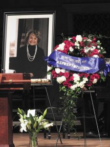 Congresswoman Louise Slaughter died March 16 at age 88. At the time of her death, Slaughter was serving her 16th term in Congress.