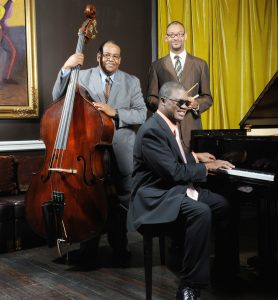 The Marcus Roberts Trio will perform at the 16th Annual Hilton Evening of Jazz on February 8. Photo by John Douglas