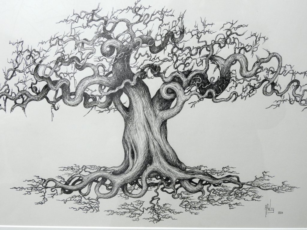 Detailed Paley drawing.