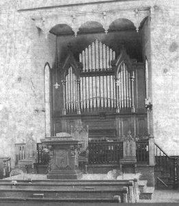 First Presbyterian Church of Holley organ