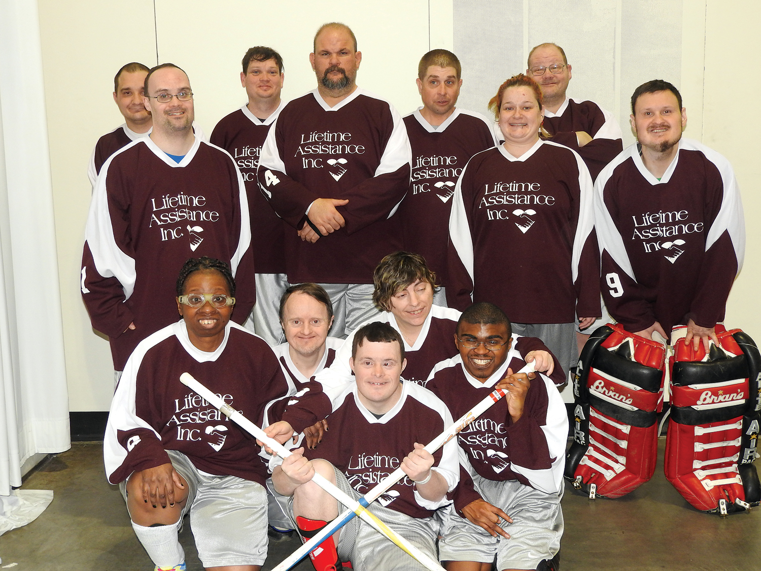 Lifetime Assistance Hockey Team