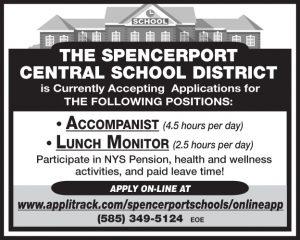 Spencerport School Accompanist-Lunch