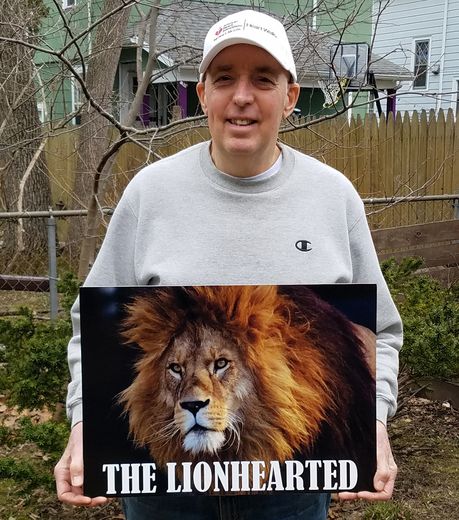 The Lionhearted Team Sign
