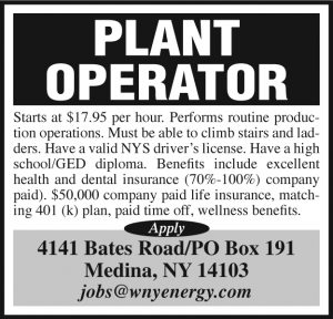 Western New York Energy 2x3 Plant Operator NEW SIZE