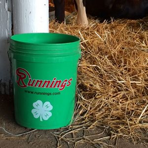 Runnings green buckets