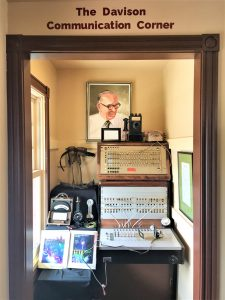 A new display this year contains memorabilia from the Ogden Telephone Company.