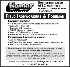 Ramar Steel Co. AISC Field Ironw