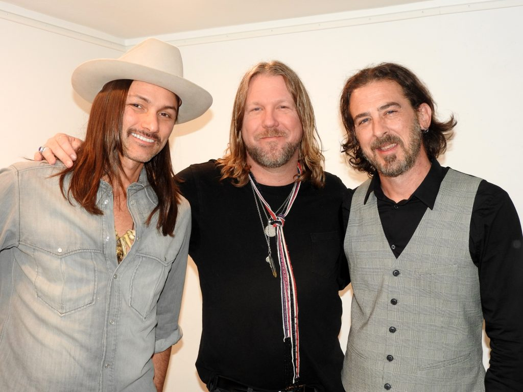 Duane Betts, Devon Allman and Berry Oakley Jr.