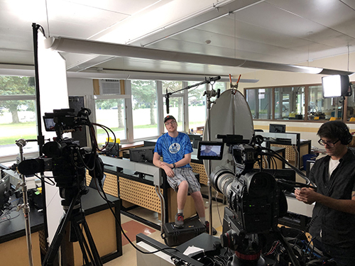 Brandon Clark was interviewed about his experience with the TIES Program.
