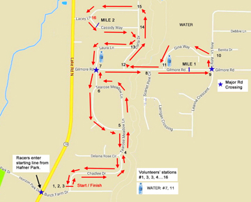 Swift Comet 5K Run/Walk, sponsored by the Clarkson Historical Society, starts at 8 a.m. from Hafner Park (registration 7 a.m.) and finishes back at the park. See race route above. Register online at ImAthlete.com/events/2019Clarkson5K.