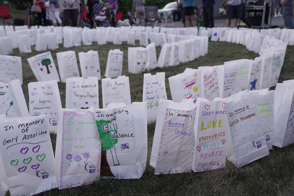 Churchville Luminaria bags