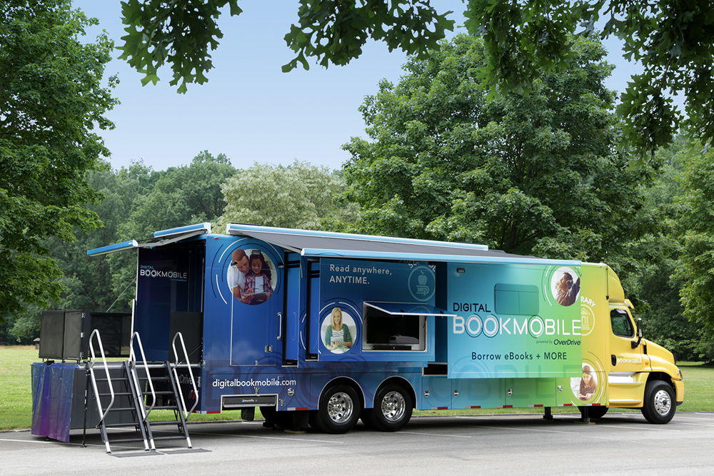 Digital Bookmobile will make stops in Brockport and Greece.