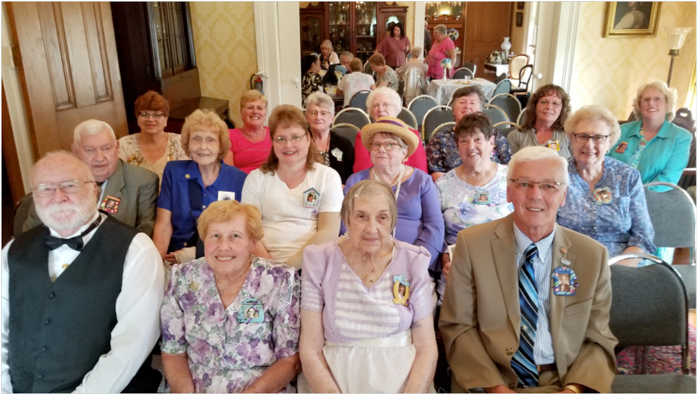 Shown (l-r): front row – Neil Laundry, Donna Laundry, Marie Knittle, Steve Pawlak; middle row – Wilson Buddle, Joan Buddle, Wendy Ebersole, Linda LeTouzel, Sue Malak, Barb Cleary; back row – Debra Leipold, Sheri Ainsworth, Shirley Mercer, Janice Smith, Ruth Moore, Laurie Smith, and Joan Hare. Photo by Dianne Hickerson