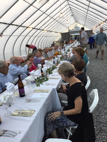 Shown here are some of the 120 people who enjoyed the Farm to Table event last year. Provided photos