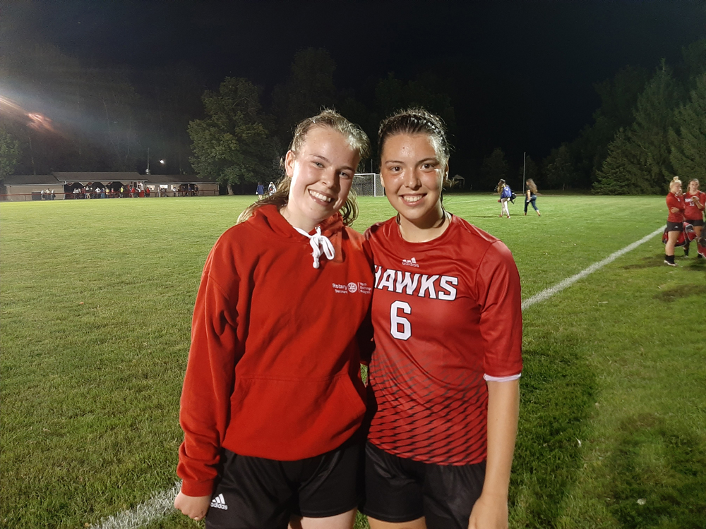 Holley's Milla Steenholdt and Kayleigh Neale (l-r). Photo by Warren Kozireski