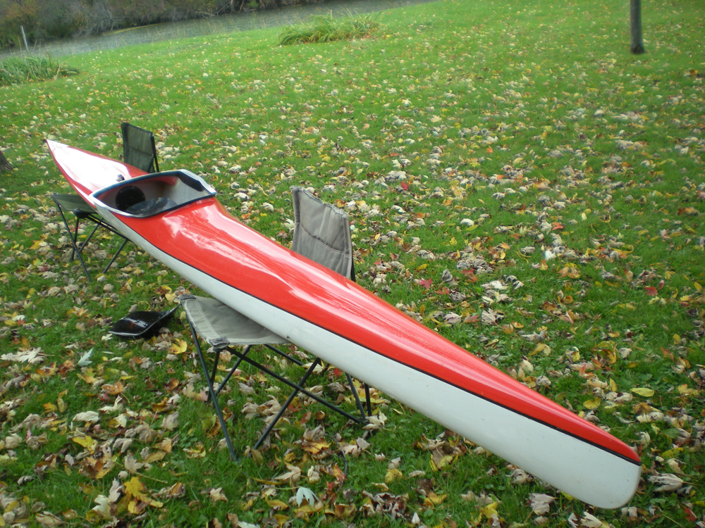 An Olympic racing kayak will be auctioned off at the festival.
