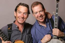 Joe Dady (right), with his brother John (left), entertained crowds for over forty years as the Dady Brothers. File photo