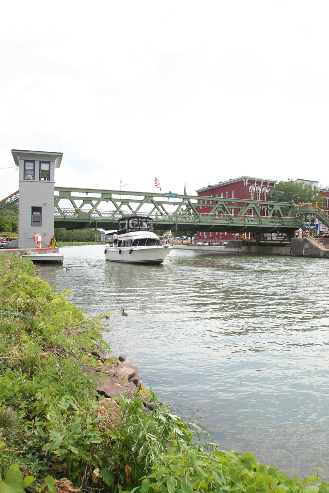 Brockport's Route 19 lift bridge is scheduled for extensive rehabilitation in 2020. File photo
