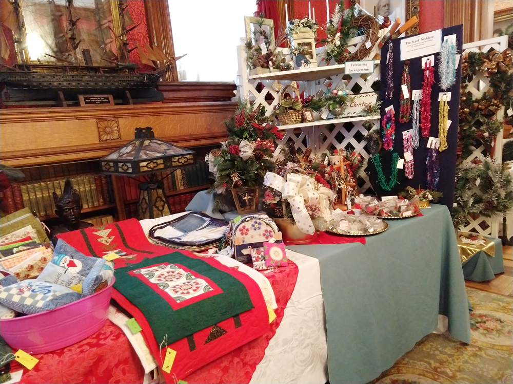 Find unique gift items at the 2019 Candlelight Christmas Arts & Crafts Show and Sale.